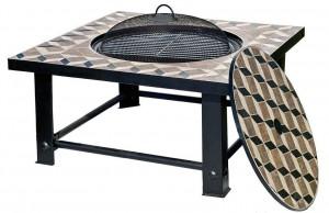 Brasero barbecue de table